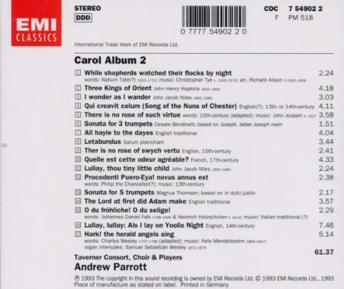 Carol Album [Import anglais]