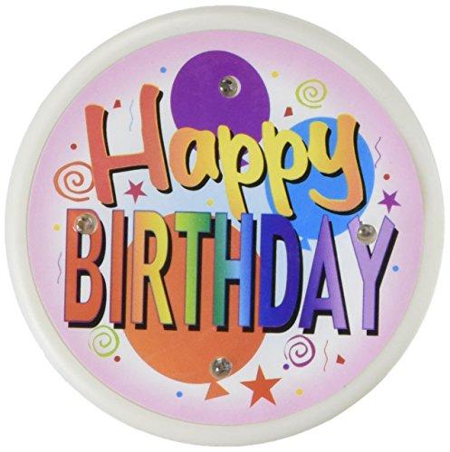 Beistle FB08Happy Birthday blinkende Taste, 2–1/2Zoll
