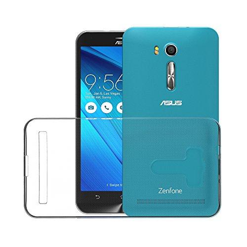 f13f25dde5c12c Coque ASUS ZenFone Go ZB551KL (5.5 Pouces), AICEK Etui Silicone Gel ASUS  ZenFone Go Housse Antichoc ZenFone Go Transparente Souple Coque de  Protection pour ...