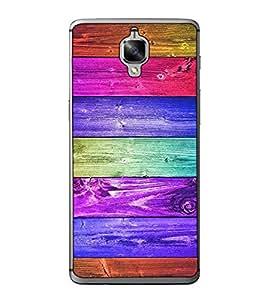 Fuson Designer Back Case Cover for OnePlus 3 :: OnePlus Three :: One Plus 3 (designer wallpaper wooden door plywood)