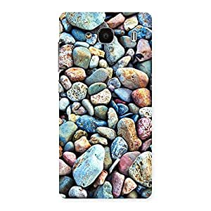 Premium Pebbles Multicolor Back Case Cover for Redmi 2 Prime