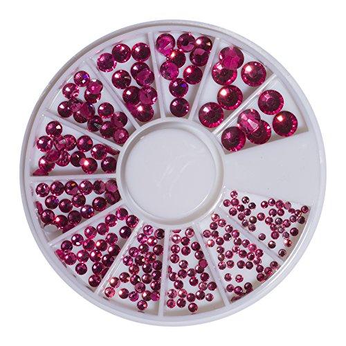 Strass en cristal rose rose violet SS6-41098 SS20 240 pièces