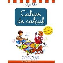 Cahier de calcul CE1-CE2