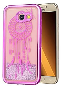 "Samsung Galaxy A3 2017 Coque Silicone, Coque pour Samsung Galaxy A3 2017, Coque Samsung Galaxy A3 2017 silicone, Nnopbeclik® ""A320F"" (4.7 Pouce) Colorful Paillettes Briller Style Backcover Doux Soft Dégradé de Couleur Housse Antichoc Protection Antiglisse"