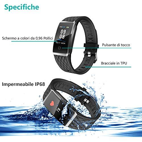 Zoom IMG-1 willful fitness tracker smartwatch orologio