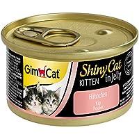 GimCat Shin ycat Kitten/Gato Forro en Jalea para Niño Gatos a Partir de 8semanas/24latas (24x 70g)