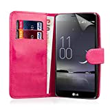 32nd Book Wallet PU Leather Flip Case Cover For LG G Flex