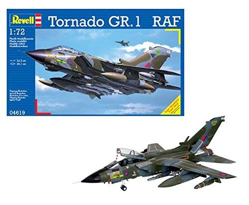 Revell- tornado gr. 1 raf kit di modelli in plastica, escala 1:72, colore non verniciato, 04619