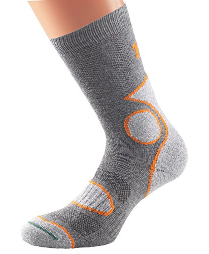 1000-mile-mens-2-season-walking-socks-grey-orange-medium-size-uk-6-85