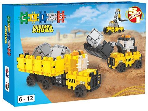 Clics BC005 Builder Squad  Box -  5 in 1, Bau- und Konstruktionsspielzeug