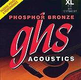 GHS 605Phosphor Bronze Saiten für 12-saitige Akustische Gitarre, 009-042
