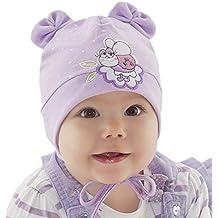 Bebé Girl Niñas Bebé Gorro Primavera Otoño Algodón Cap mariquita 0369121824meses nueva (44cm 6–9meses)