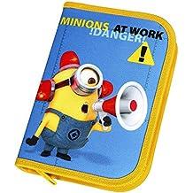 Scooli MNOH0440 - caja de lápices Minions con Stabilo - llenado Marca, 30 piezas