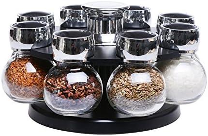 Weiwei Set di Cucina spezie rossoante Jar Scatola di condimento Vetro Creativo Vetro condimento Serbatoio Sale Prodotti di Storage di Cucina della FamigliaA 275e82