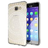 NALIA Handyhülle kompatibel mit Samsung Galaxy A5 2016, Slim Silikon Motiv Case Hülle Cover Crystal Dünn Durchsichtig Etui Ha