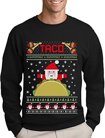 Green Turtle T Shirts Taco Santa Ugly Christmas Funny