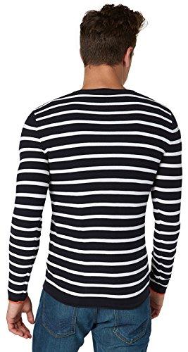 Tom Tailor Herren Pullover Marineblau