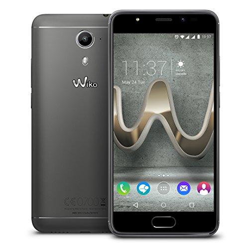 Wiko 9690 U Feel Prime Smartphone (12,7 cm (5 Zoll) Full HD IPS-Display, Fingerabdruck-Sensor, 32GB interner Speicher, Android 6.0 Marshmallow) anthrazit - 5