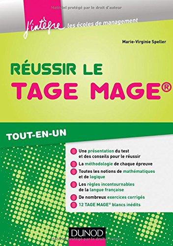 Réussir le Tage Mage® - Tout-en-un par Marie-Virginie Speller