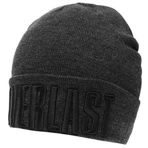 Everlast Unisex Cuff Mütze Grau/schwarz One Size
