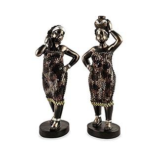pajoma Dekofigur afrikanische Frauen, 2er Set