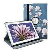 kwmobile ASUS ZenPad 10 (Z300) Cover - Custodia per Tablet Rotazione 360° Stand Similpelle - Protezione per ASUS ZenPad 10 (Z300)
