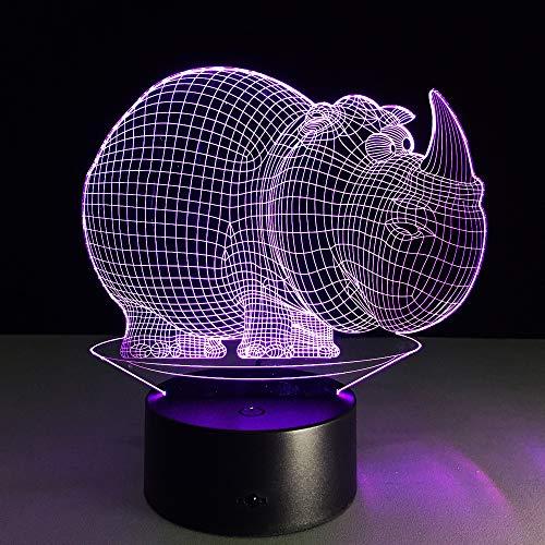 Baby Nachtlicht Kreative Kleine LED Tischlampe 3D Gradient LED Beleuchtung Figur Spielzeug Schlafzimmer Dekor