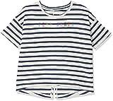 Pepe Jeans Mädchen T-Shirt Janis Jr, Blau (Ocean) Jahre (Herstellergröße: 10)
