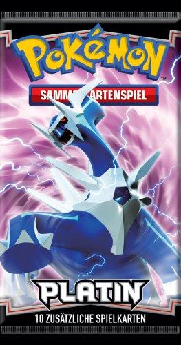 Pokémon 25480 - Platin 01 Booster Deutsch Erste Serie Pokemon Karten