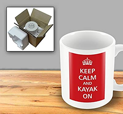 Keep Calm - And Kayak On from The Victorian Printing Company