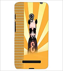 PrintDhaba Cartoon D-2923 Back Case Cover for ASUS ZENFONE 5 A501CG (Multi-Coloured)
