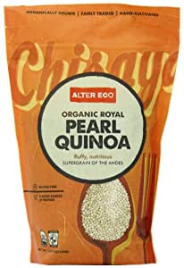 Alter Eco Americas Organic White Quinoa 453 gm (Pack of 8)