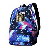 Liantianhao Relax Vato Its Friday Paco Aguilar Unisex Backpack, Star Sky Backpack, Backpack, Pocket Canvas, Bag, Travel Bag.
