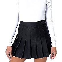 29b18bbc78 Yying Faldas de Escuela de Tenis para niñas Mini Faldas Plisadas con Cintura  Alta de Mujer