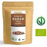 Fave di Cacao Crudo Biologico da 900g | 100% Bio, Naturale e Puro | Prodotto in Perù dalla Pianta Theobroma Cacao | Superfood Ricco di Antiossidanti, Minerali e Vitamine | NaturaleBio