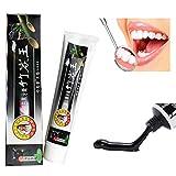 ROPALIA Aktivkohle Zähne Whitening Zahnpasta Natürliche schwarze Toothpastes