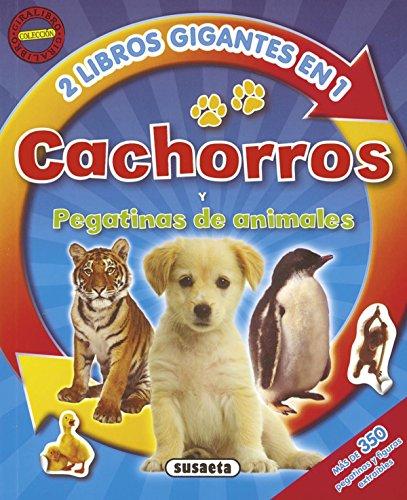Descargar Libro Cachorros y pegatinas de animales (Giralibro) de Equipo Susaeta