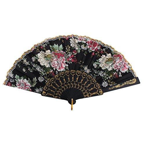 sourcingmapr-femme-plastique-fleurs-caracteres-chinois-lace-ventilateur-pliable-couleur-ful