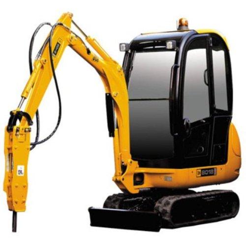 Joal - Excavadora Miniatura JCB 8016 Martillo Hidráulico