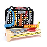 Mamatoy MMA54000 – Mamatoy Banco de trabajo Power Deluxe – ¡Banco de trabajo de juguete con 70 herramientas realistas y un taladro que funciona!