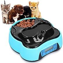 Color Azul 300 Ml All For Paws Comederos Para Gatos