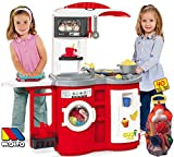 JT-Lizenzen Molto Spielküche Kinderküche Cook`n Play mit 40-tlg. Zubehör