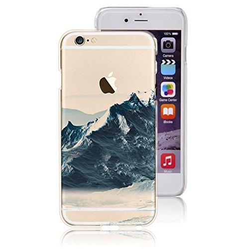 Schutzhülle für für iPhone 6 6S, iPhone 6 6S Dual Kunststoff Schutzhülle cases Covers, Schutzhülle Hart Kunststoff Schutzhülle Cover inkl. Cases für iPhone 6 6S - Vandot Feather Dream Catcher Style 19