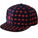 Belsen Jungen Pflaumenblüte Stickerei Baseball Cap Snapback Trucker Hat (Kinder)