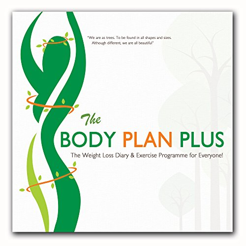 51J0W NvCKL - NO.1# Diet Diary, Food Diary For Weight Loss & Slimming. The Body Plan Plus Full Colour Diet & Exercise Diary Reviews diet plan- weight loss uk