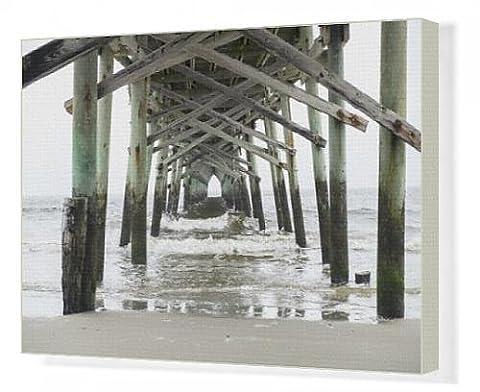 Canvas Print of USA, North Carolina, Wilmington, Oceanic