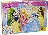 Lisciani Giochi- Princess Disney Puzzle Doppia Faccia, Multicolore, 47901