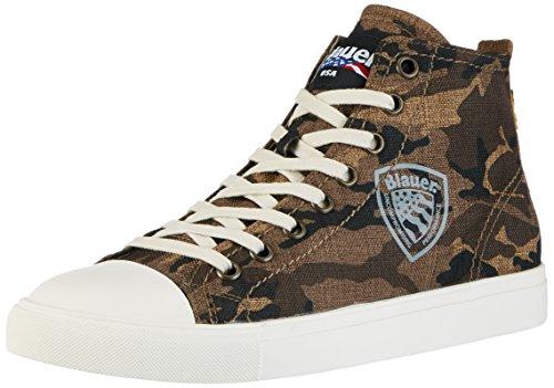 Blauer USA An.versary, Sneaker Alte Uomo Verde (Militare Green)