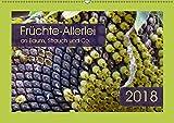 Früchte-Allerlei an Baum, Strauch und Co. (Wandkalender 2018 DIN A2 quer): Kreationen von knallgelb bis feuerrot (Monatskalender, 14 Seiten ) ... [Kalender] [Apr 01, 2017] keller, Angelika