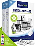 Entkalkungstabletten für Kaffeevollautomaten & Kaffeemaschine - 40x 16g Tabs...